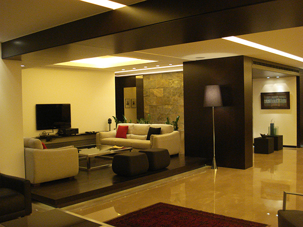 Architect Ronald Baz Residential Apartment Beirut