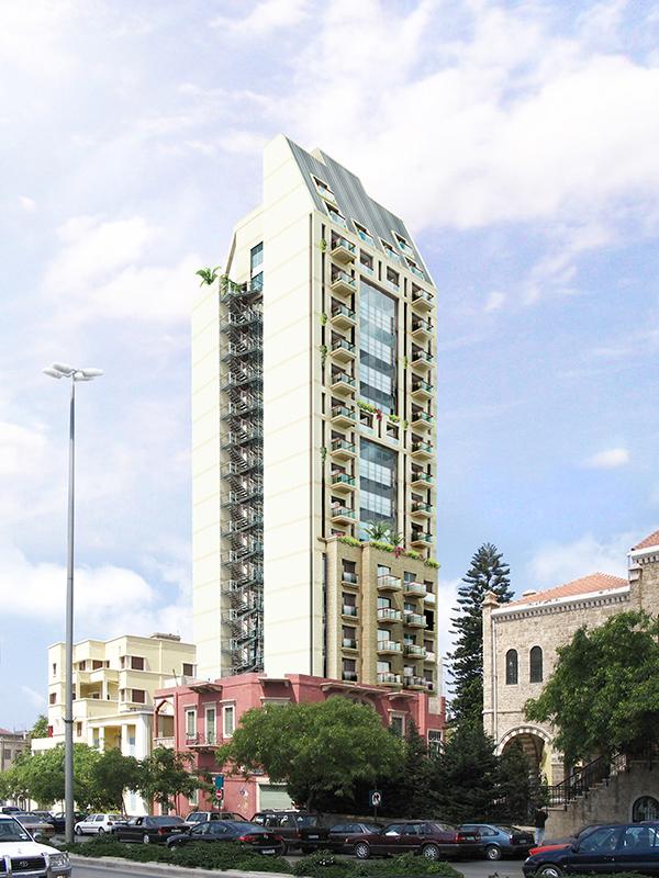 Saifi Crown Building Beirut Lebanon
