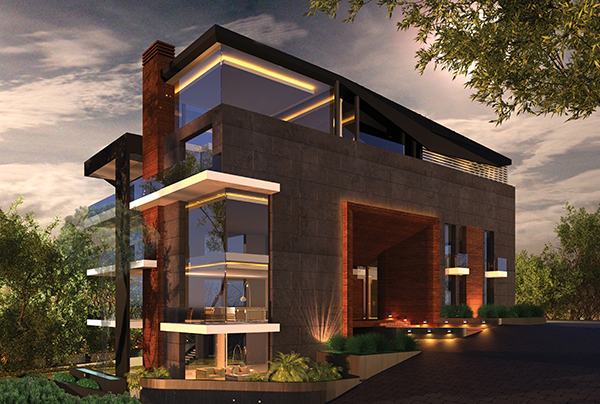 Kornet Shehwan Residential Project by Lebanese Architect Ronald Baz